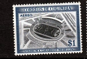 J26945 1954 colombia part of set mh  #c249 sports