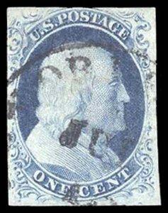 U.S. 1851-57 ISSUE 9  Used (ID # 91070)