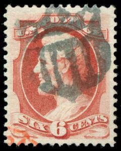momen: US Stamps #148 Used Shield PF Cert SUPERB App.