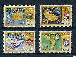 [CA035] Caribbean Netherlands 2012 Christmas MNH