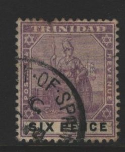 Trinidad Sc#84 Used - fault top