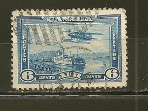 Canada C6 Sea Plane Airmail Used