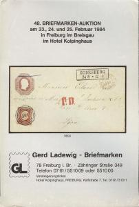 48. Briefmarken-Auktion, Gerd Ladewig  Feb. 23-25, 1984