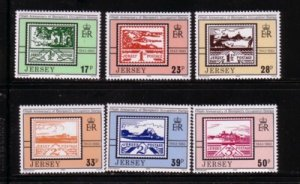 Jersey Sc 640-645 1993 60th Anniversary Occupation stamps  stamp set mint NH