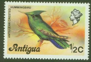ANTIGUA Scott 405 Hummingbird Issue 1976 MNH**
