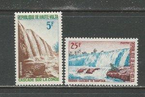 Burkina Faso Scott catalog # 139-140 Unused Hinged