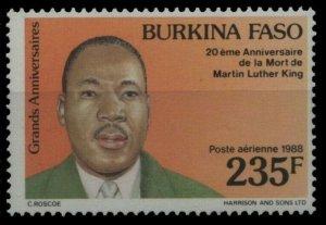 1988 Burkina Faso 1193 Nobel laureates / Martin Luther King 2,40 €