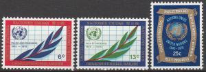 UN  #209-11  MNH F-VF (V3864)