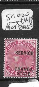 INDIA  CHAMBA (PP3108B)  QV 1A  SGO20  0VPT SHIFT   MOG