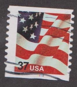 US #3632 Old Glory Used PNC Single plate #2222
