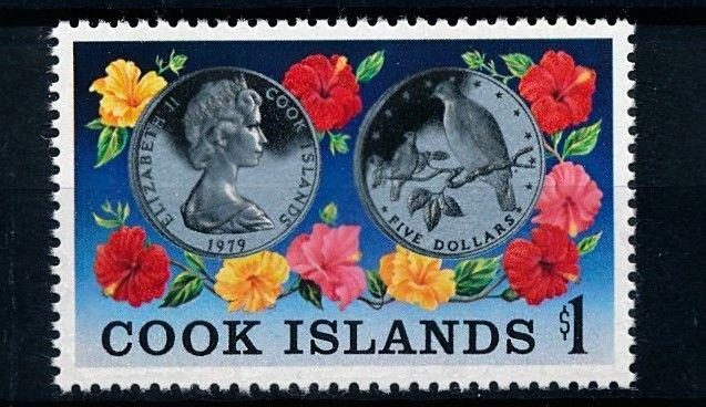 [61968] Cook Islands 1979 Flora Flowers Blumen Fleur - Coins Bird  MNH