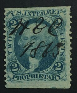 MOMEN: US STAMPS #R13b REVENUE USED LOT #71705*