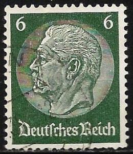 (1711387) Germany 1934 Scott# 419 Used wmk 237