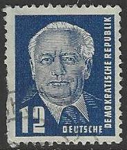 Germany DDR #54 Used Single Stamp (U12)