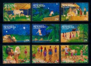 [72233] Micronesia 1990 Christmas Birth of Christ  MNH
