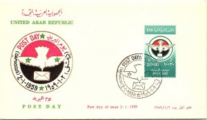 Syria, Worldwide First Day Cover, Birds
