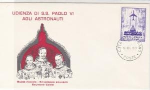 Vatican 1969 Space Astronauts Picture Souvenir Stamp Cover Ref 29488