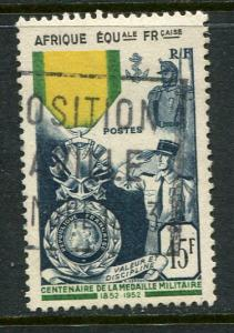 French Equatorial Africa #186 Used