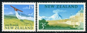 New Zealand #360-61 #346 & 349 Color Reissues ~ (7751)