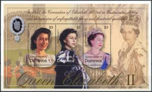 2003	Dominica	3412-14KL	50 years of the coronation of Elizabeth II Golden Jubile