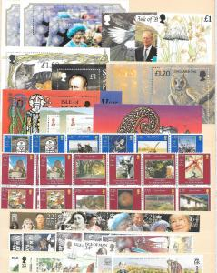 ISLE OF MAN STAMPS DISCOUNT POSTAGE FULL GUM LIGHTLY HINGED 30.00 LBS NET $19.99