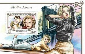 Niger MNH S/S Marilyn Monroe 2015