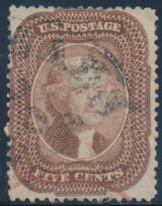 #29 FINE USED WITH BLACK AND RED CANCELS CV $475 BT8382
