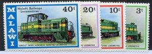Malawi, Scott #289-292, Mint, Never Hinged