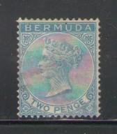 Bermuda Sc 20  1882 2d Victoria stamp used