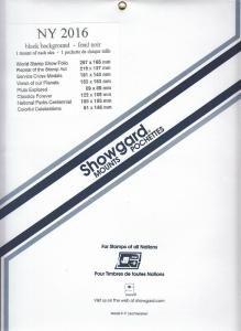 SHOWGARD BLACK MOUNTS NY 2016 (8) RETAIL PRICE $12.50