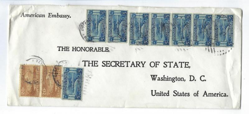 ~1936 Caribbean USA State Dept From FD Roosevelt Personal Collection! (BN68)