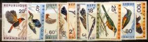 Rwanda 1967 SC# 239-48 MNH  L59