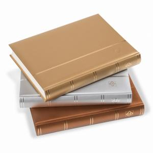 txphl exclusive - Lighthouse 358056 Silver COMFORT Stockbook A4/64pp Glassine