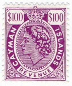 (I.B) Cayman Islands Revenue : Duty Stamp $100