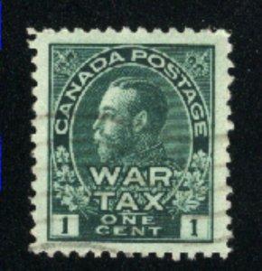 Canada #MR1   -1   u   VF 1915 PD
