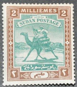DYNAMITE Stamps: Sudan Scott #10 – MINT hr