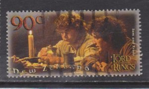 SC1752 New Zealand 2001 Lord of the Rings Fellowship used