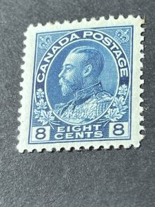 CANADA # 115--MINT/HINGED---BLUE----SINGLE----1925