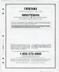 Scott's Minuteman Supplement 2011, 04324