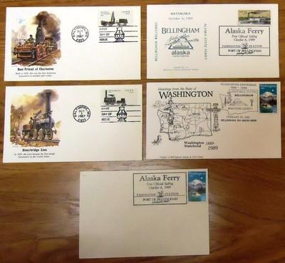1st Day of Issue Stamp Envelope Mint Qty 5
