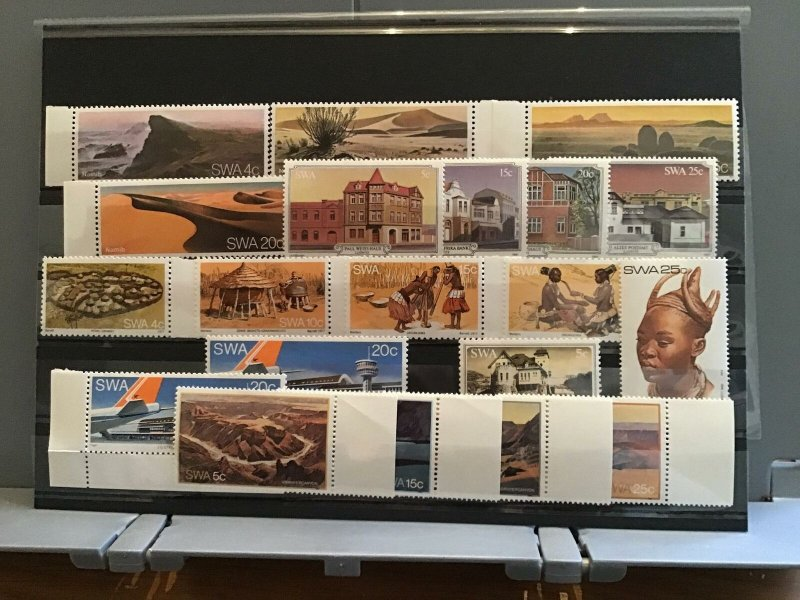 South West Africa 1970's mint never hinged   stamps R27433
