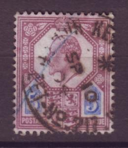 J17661 JLstamps 1902-11 great britain used #134 KEVII