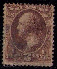 US Sc O74 Treasury dept (1873) Used VF