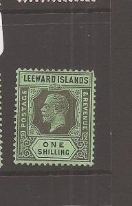 Leeward Islands Die II 1/- SG 73 MOG (12cdz)