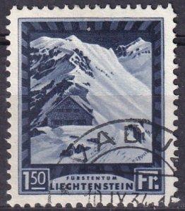 Liechtenstein  #106  F-VF Used   CV $77.50 (Z3163)