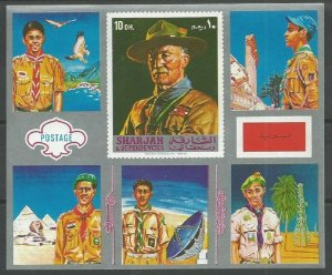 1972 Sharjah Trucial State Boy Scouts SS