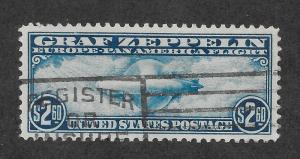 C15 Used, $2.60 Zeppelin, XF+, Free Insured Shipping