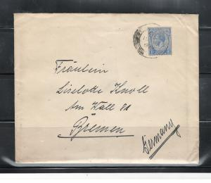 COVER PENANG-GERMANY HANS RUSVHER to Fraulein LISELOTTE KNOLLPENANG10/07/1929