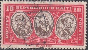Haiti #335-336 Used