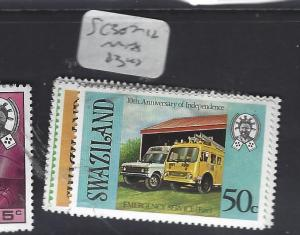 SWAZILAND  (P0312B)     SG 307-312      MNH